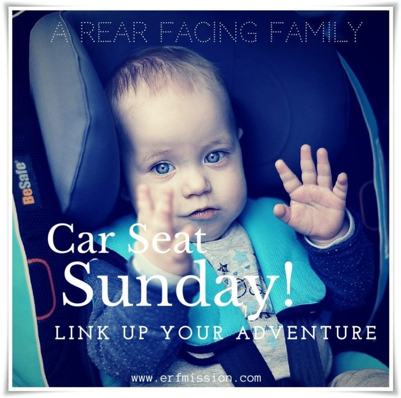 car seat Sunday link up