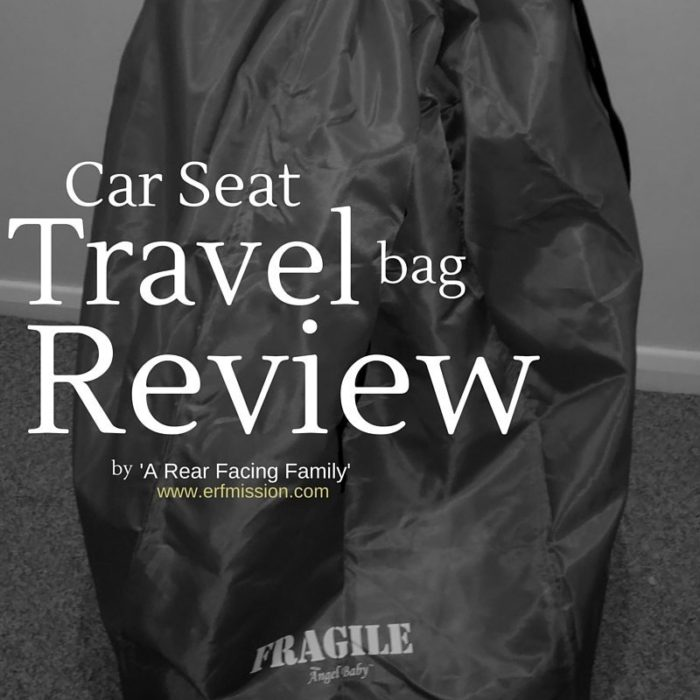 car seat travel bag review