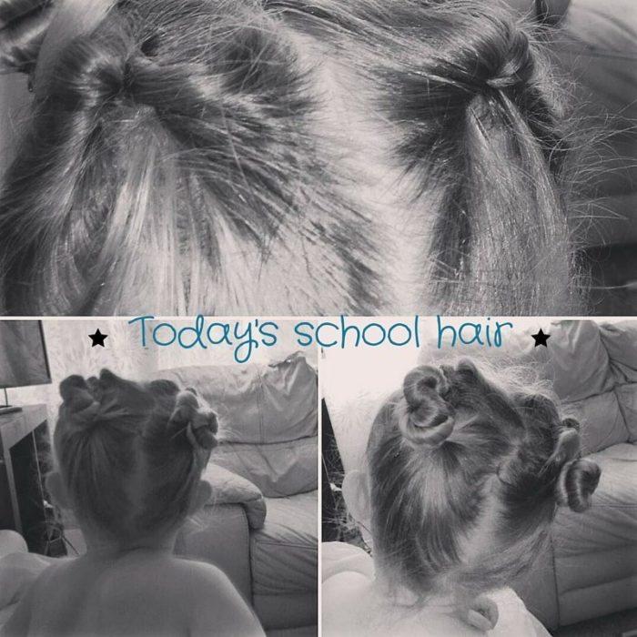 Caitlyn's school hair