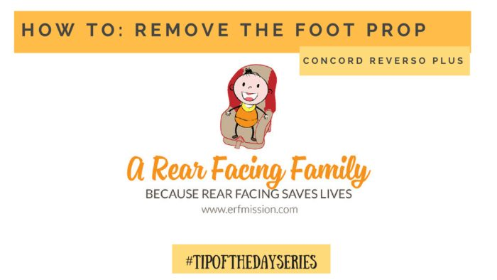 Concord reverso Plus leg removal Tip