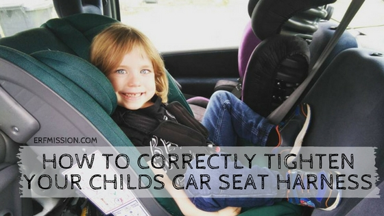 How To Correctly Tighten Your Childs Car Seat Harness