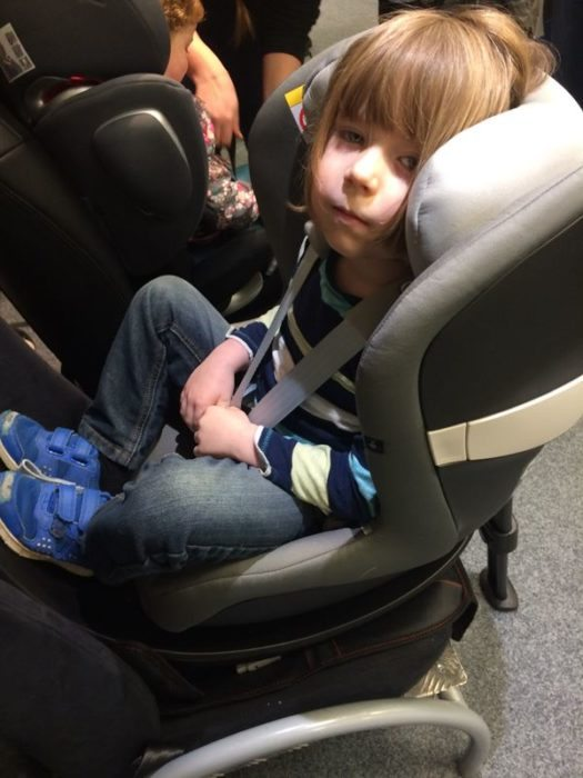 Henry in Cybex Sirona M2 - A Rear Facing Family