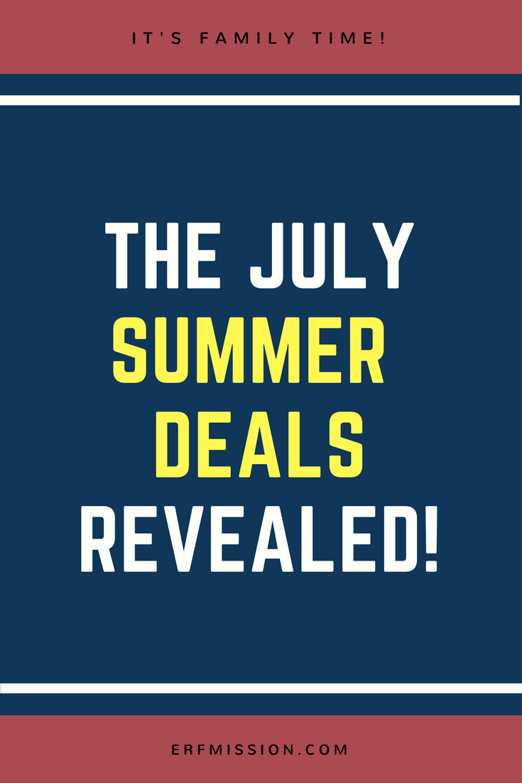 july summer deals!