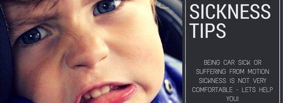 TRAVEL SICKNESS TIPS