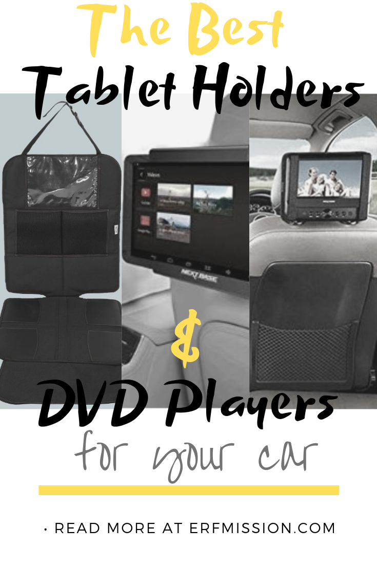 the best tablet holders and DV players for your car